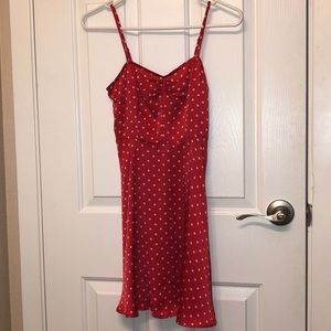 Urban Outfitters Polka Dot Slip Dress